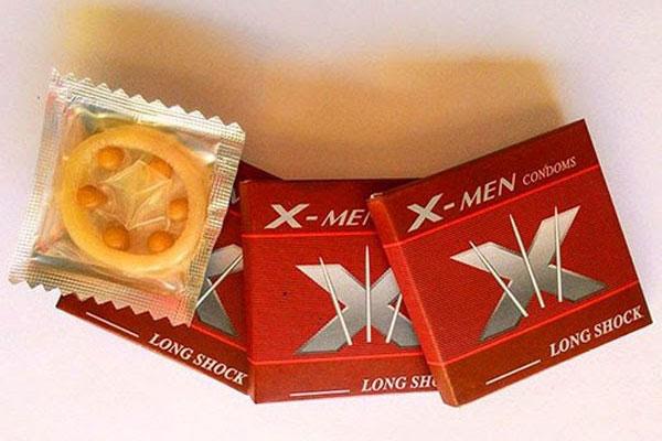 Bao cao su Xmen 6 bi là dòng sản phẩm nổi tiếng tại Thái Lan