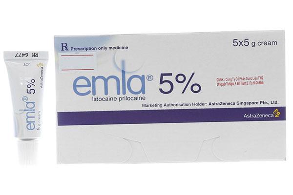 Thuốc bôi chống xuất tinh sớm Emla được sản xuất tại Thụy Sĩ