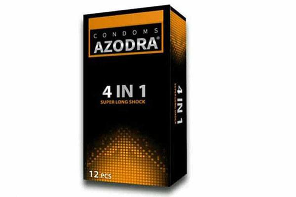Bao cao su azodra 4 in 1 đang được bán với mức giá khoảng 30.000/ 1 hộp 3 chiếc