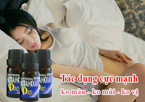 thuốc kích dục nữ D10 giúp phụ nữ chủ động trong chuyện ấy