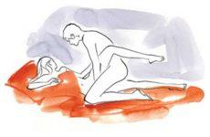 Tư thế chẻ tre giúp cậu nhỏ khít vào âm đạo nữ giới hơn