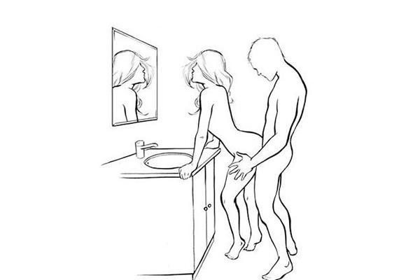 Tư thế quan hệ tình dục từ phía sau