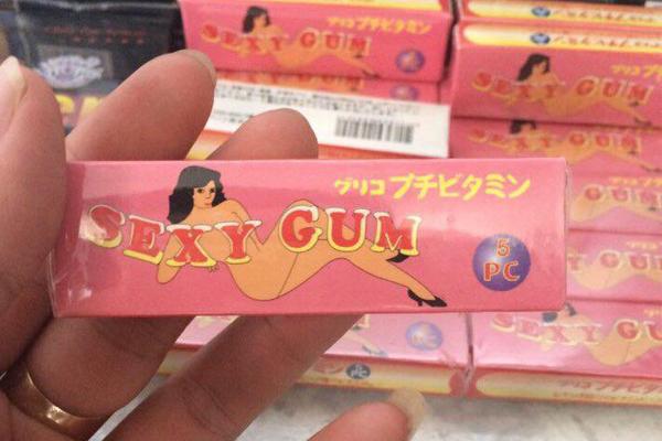 Kẹo cao su kích dục Sexy Gum đang được bán chính hãng tại condom Việt