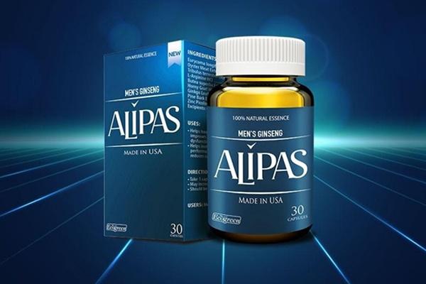 Viên uống tăng cường sinh lý Alipas new