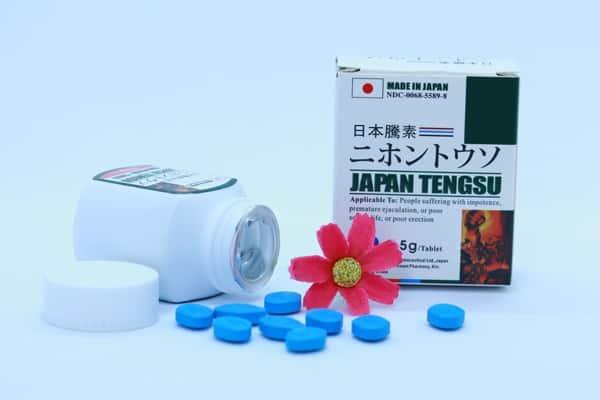 Viên ngậm tăng cường sinh lý Japan Tengsu