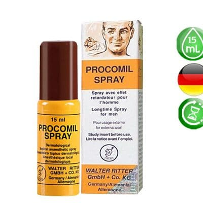 Thuốc xịt chống xuất tinh sớm Procomil Spray
