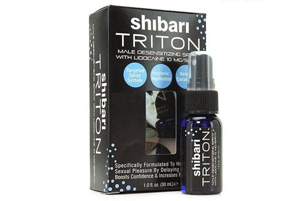Thuốc xịt chống xuất tinh sớm Shibari Triton